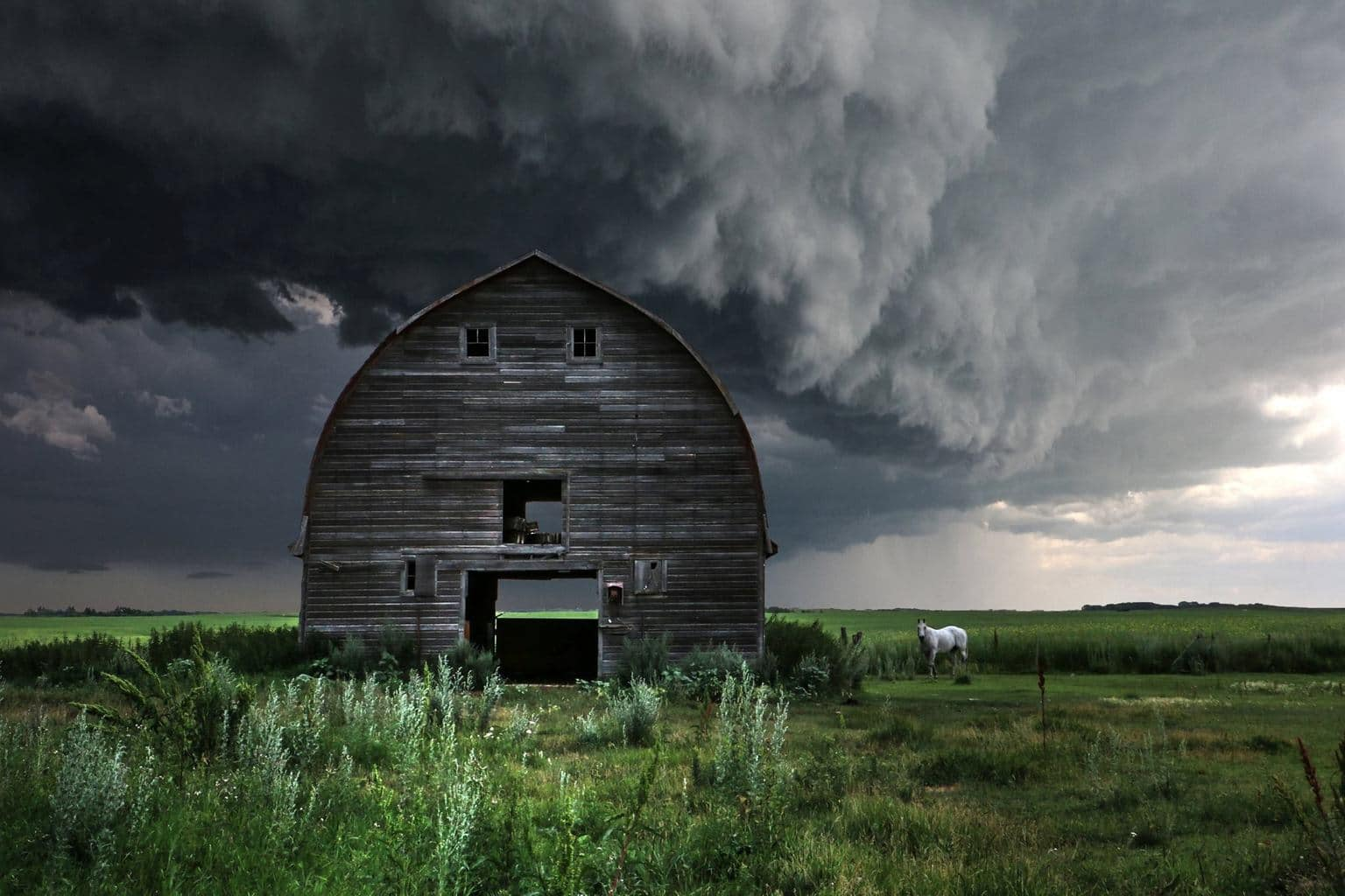 Ominous Barn