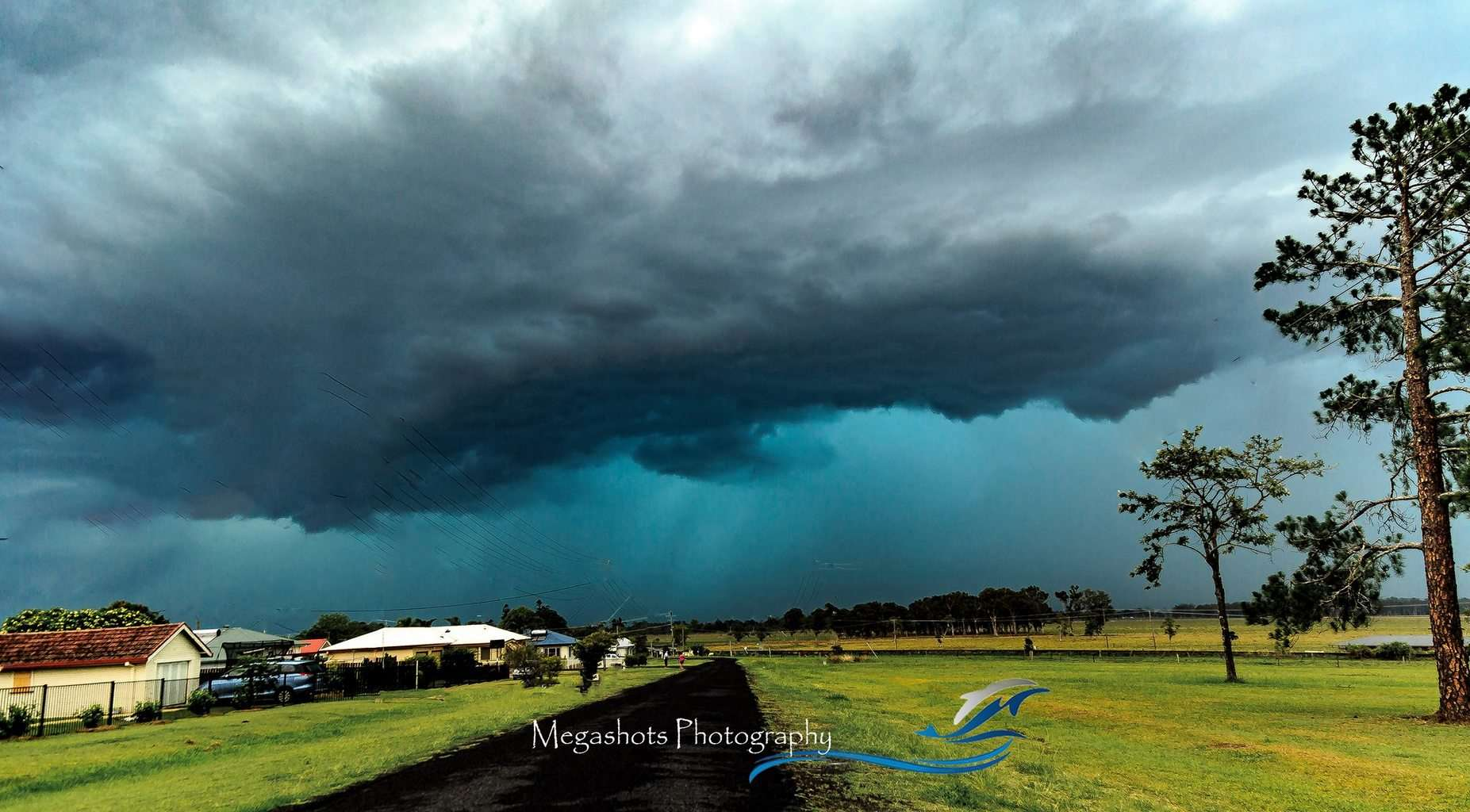 Late last year in Casino, NSW one ripper of a storm came through and it decided to drop some hail onto us. Fortunately no damage, but gee it was awesome to watch and capture this coming in.