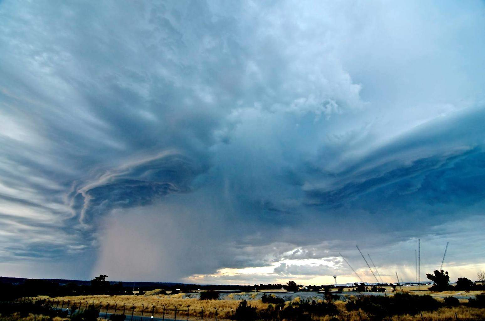 Taken last January in Perth, this had an interesting structure and dropped some small hail.
