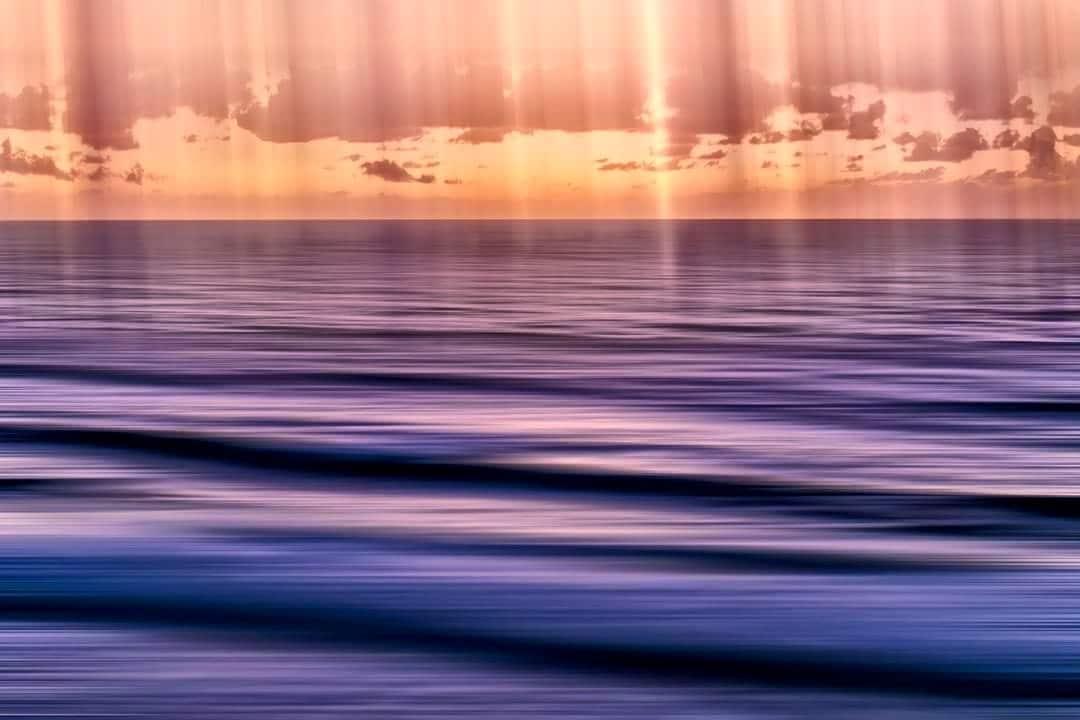 Rays of light - Sunrise : Gold Coast, Australia