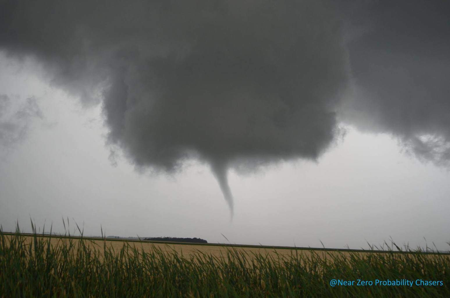 OH Canada!!! Took this picture of a Landspout Tornado just South of Anola MB yesterday