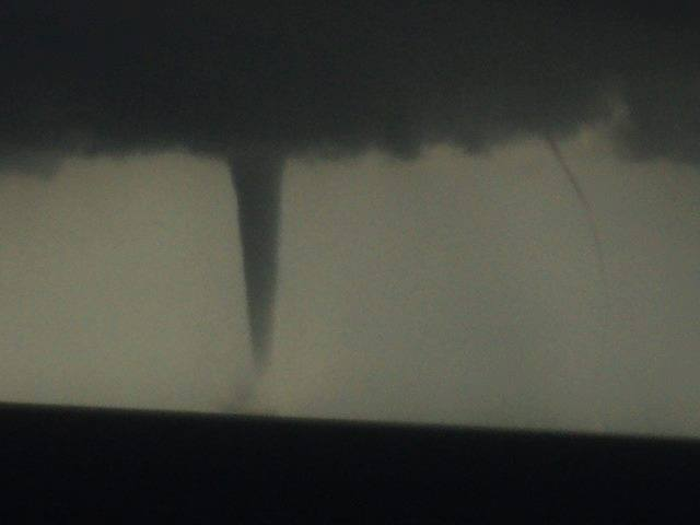 Waterspout and funnel over West coast of Istria. June, 24, 2013.