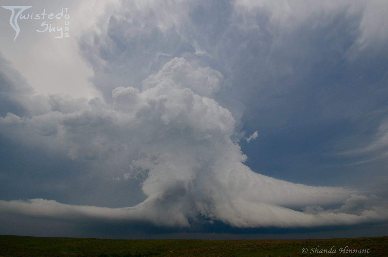 """""""Octopus Storm"""" No two storms are ever alike, but this one was truly unique. June 4, 2015 in NW Kansas, just south of Atwood."""