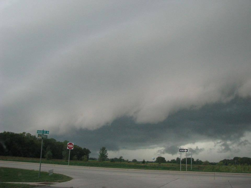 In Hutchinson minnesota right now