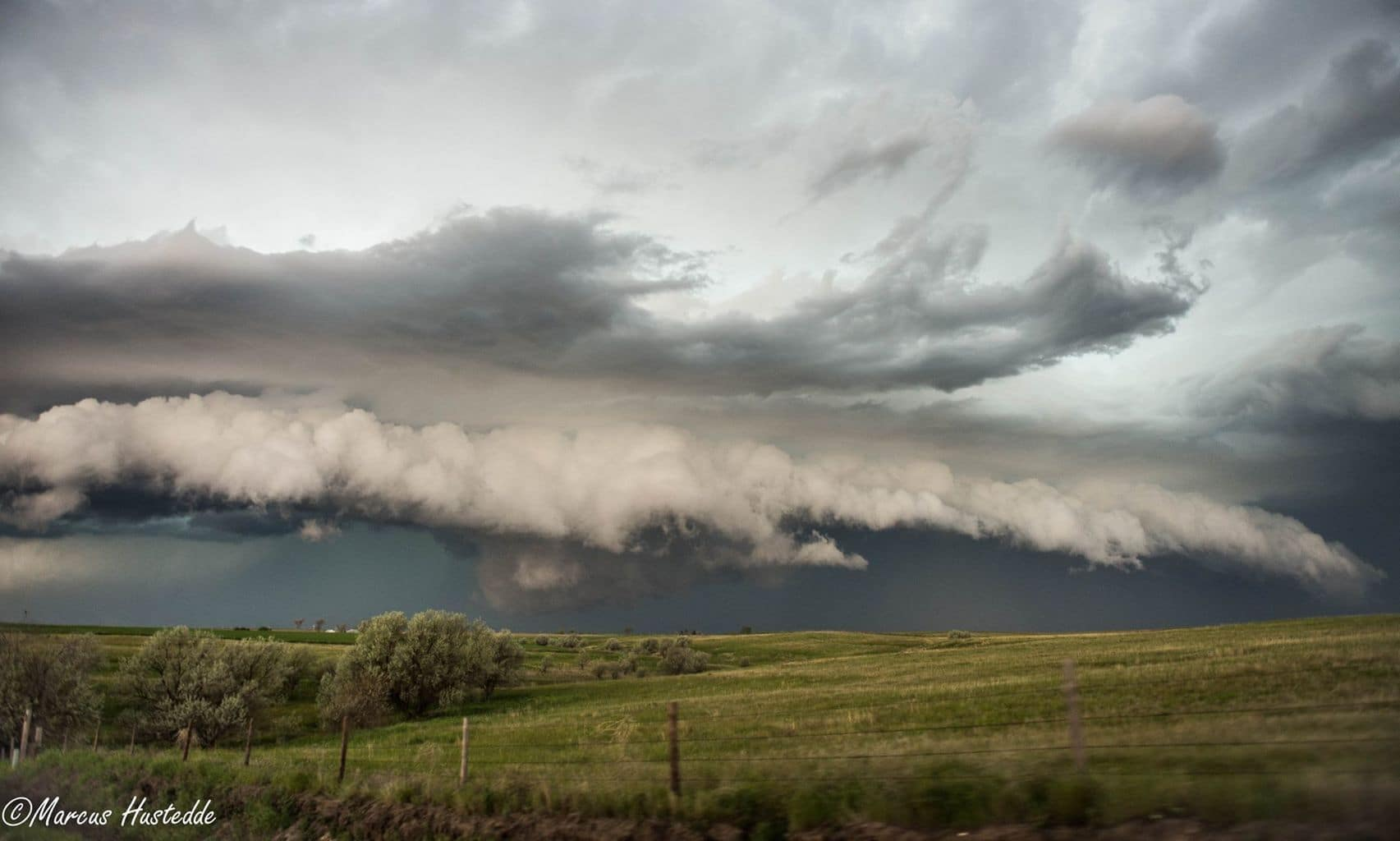 6-2-15 near Hemingford, NE....shelf cloud with an embedded wall cloud