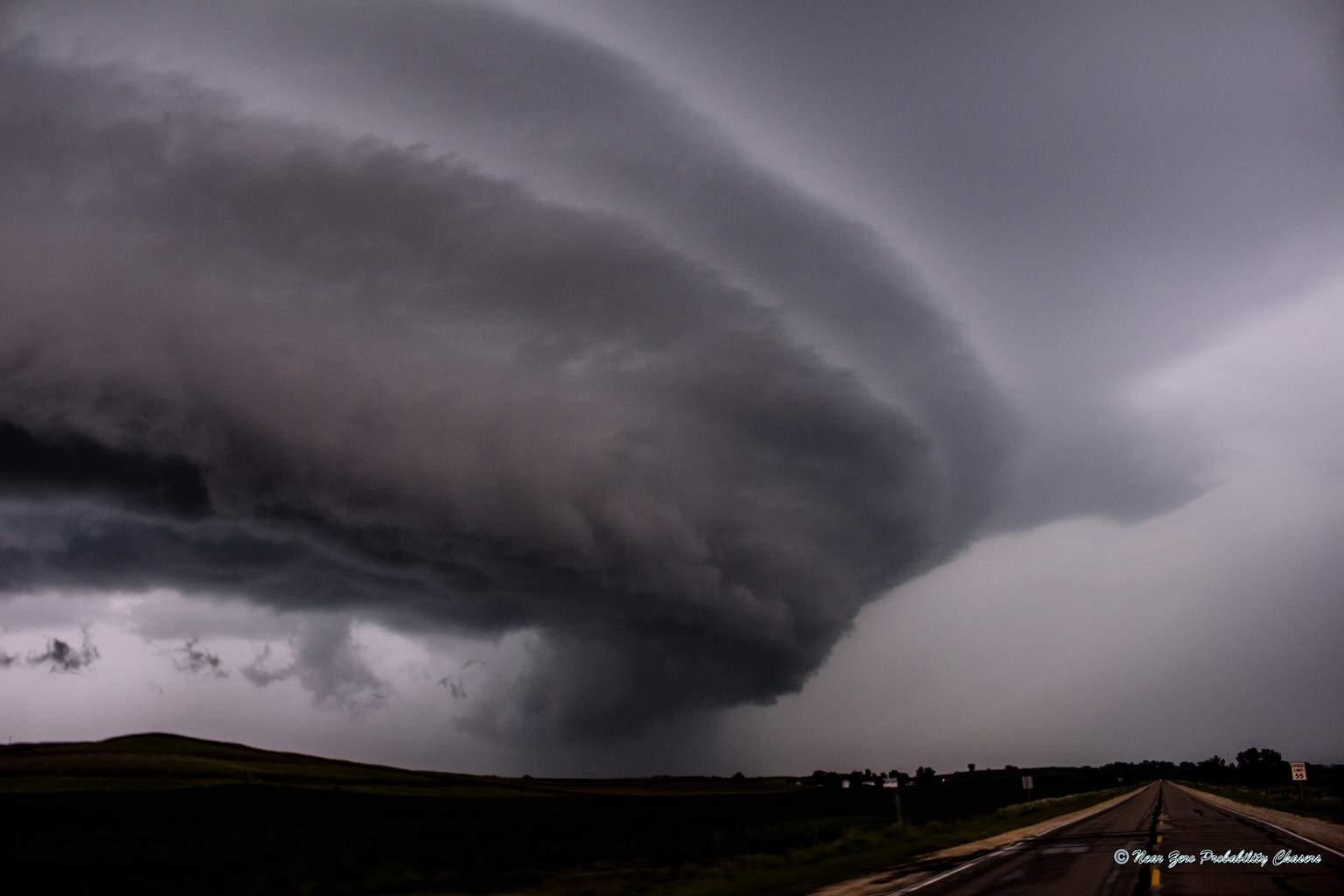 August 22nd in Iowa: very photogenic storm!