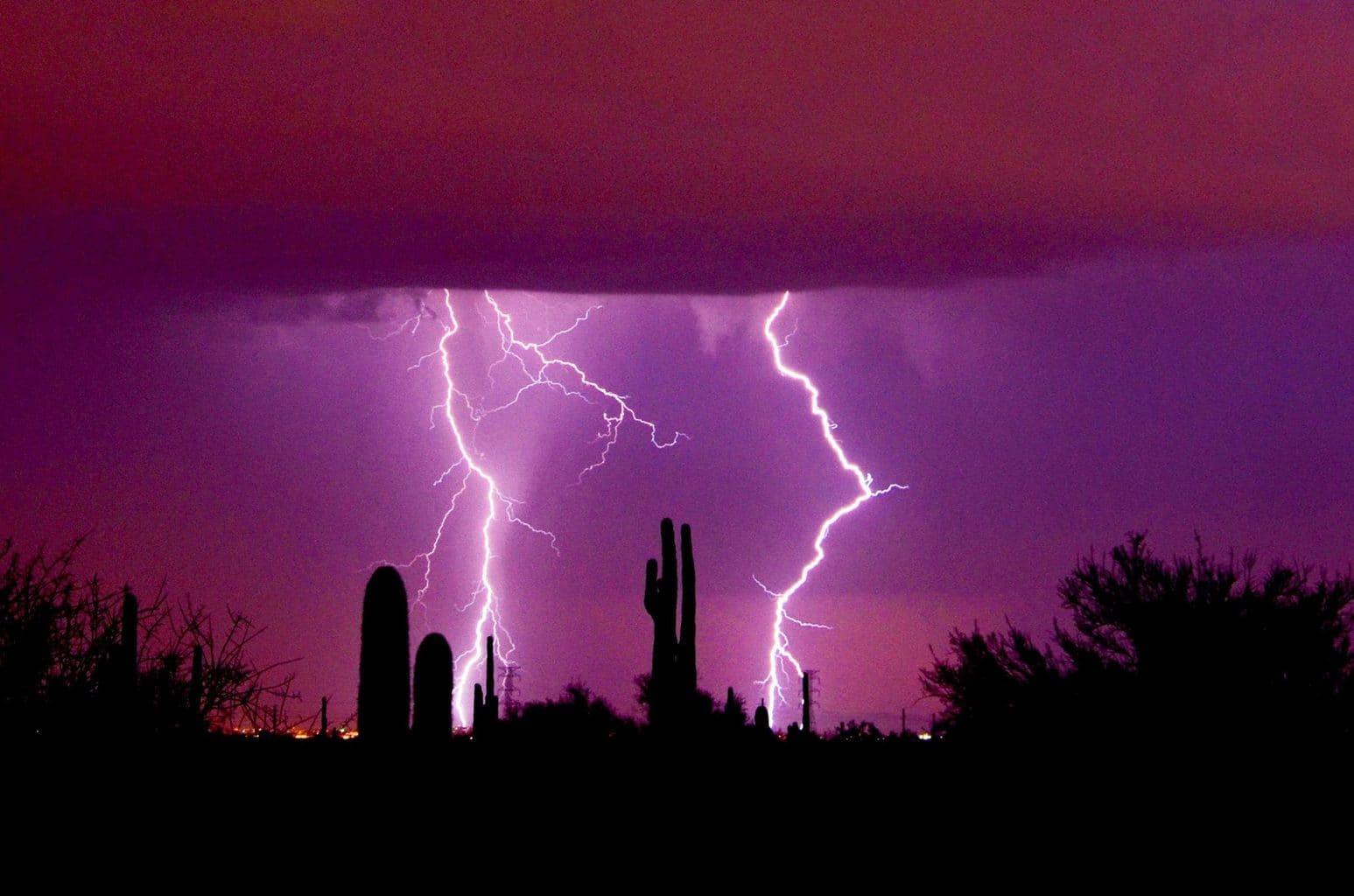 Twin bolts. Mesa AZ.
