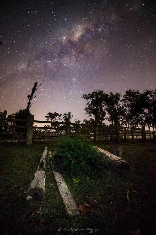Storm season has just started down under in Aus but no storm shots for me yet. Instead here's a shot of the Milky Way in all it's glory out on a farm near where I live.