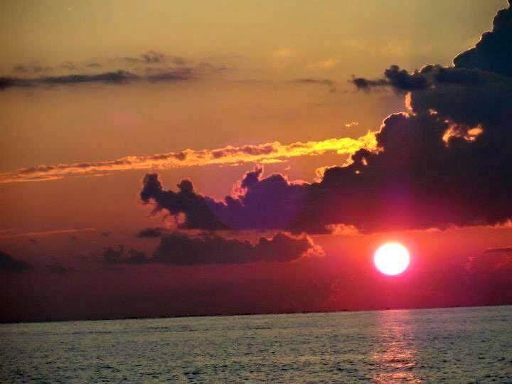 Fort Morgan Alabama sunset!