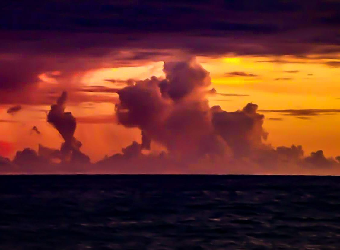 "Getting ""Flipped Off"" by the Gulf Bug-eyed Beast..... off Hernando Beach Florida"