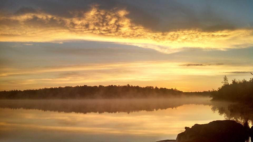 Morning sunrise 9/12/2015 Carbon County Pennsylvania Poconos
