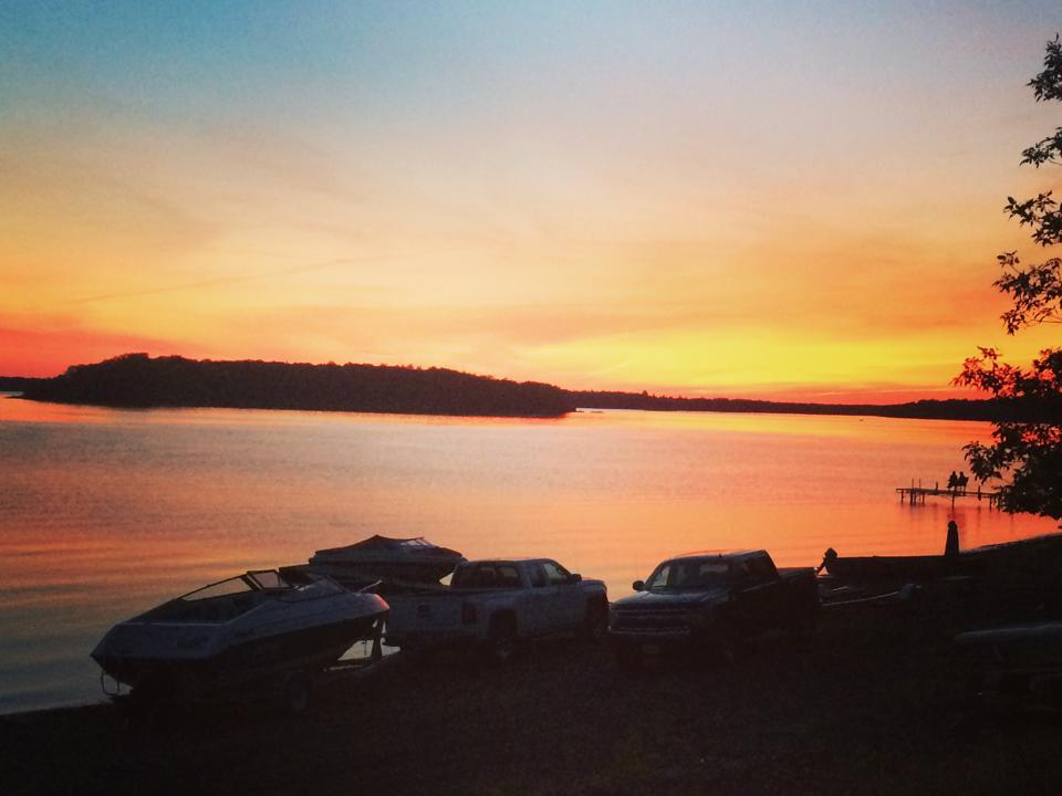 Sunset from Saturday night