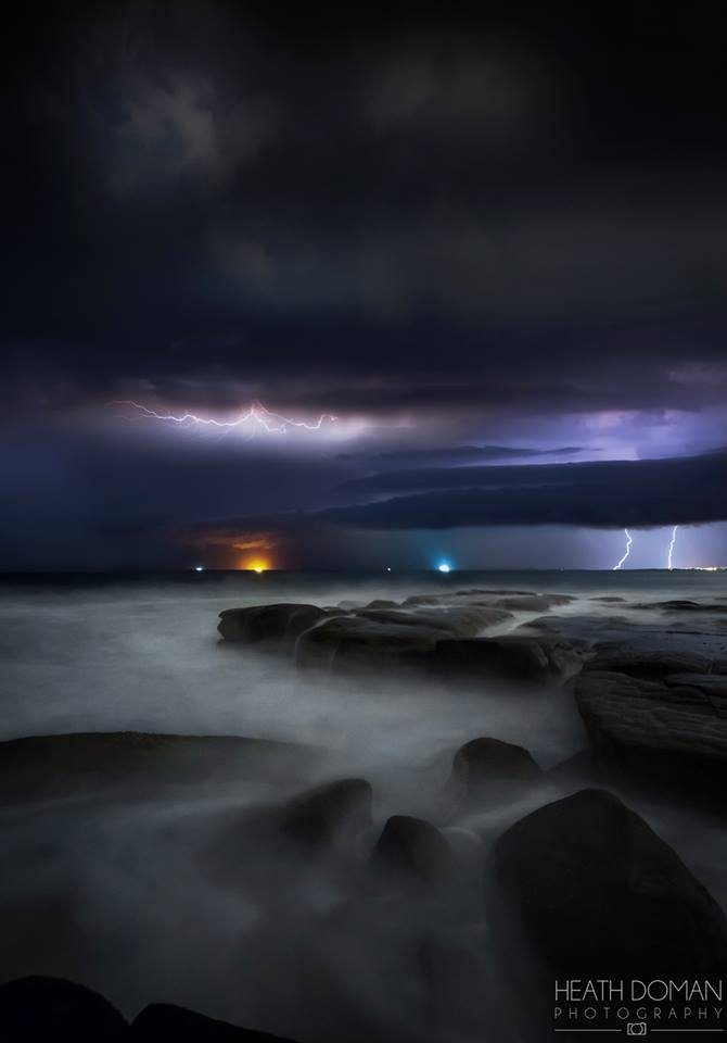 My first lightning capture for the Australian storm season, can't wait! Point Cartwright