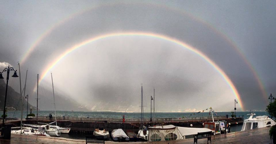 Double rainbow from Yesterday