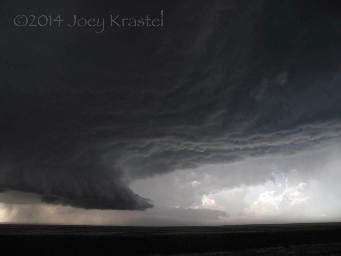 Incredible storm on incredible landscape - Roy, NM June 6, 2014