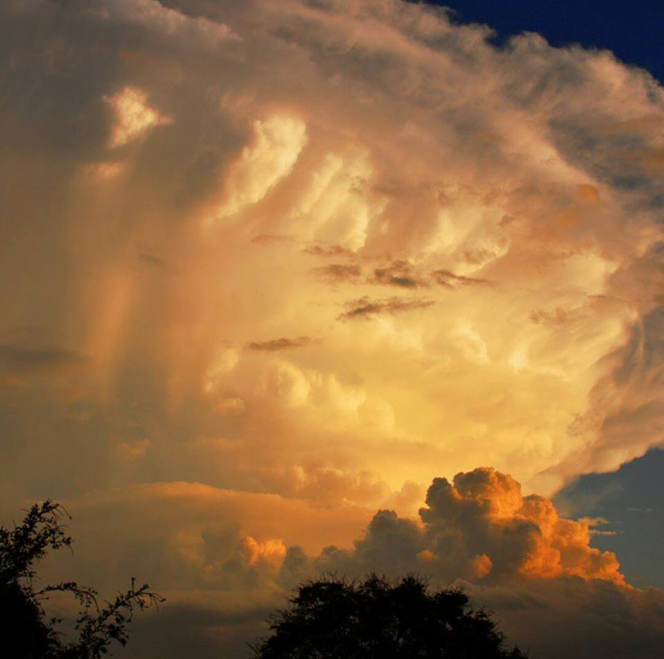Another angle of the Brisbane supercell of 27th Nov 2014