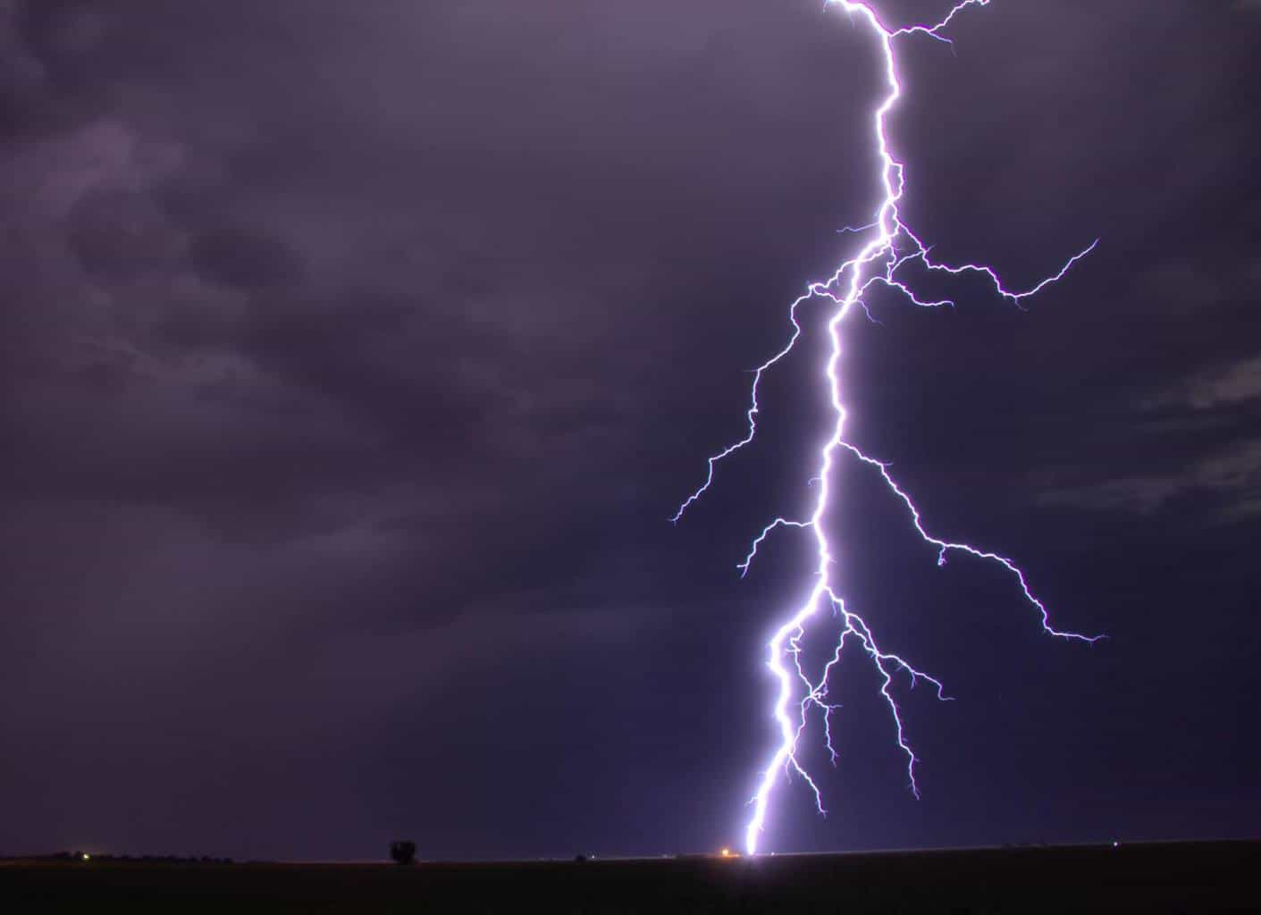 One of the lightning shots I got in August of this year. Taken 30 miles south of Lubbock Texas.