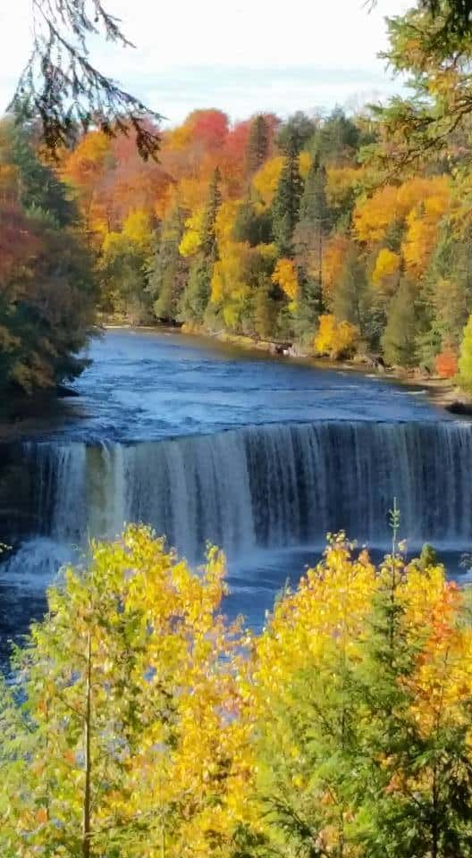 Taquanum falls in Paradise Michigan #906