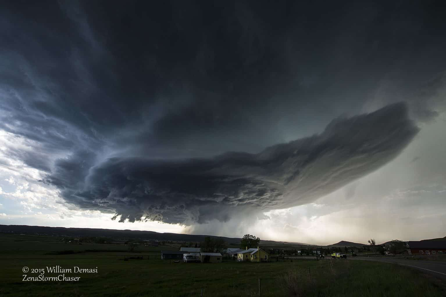 Nice supercell near Rapid City SD, last 1 of june!