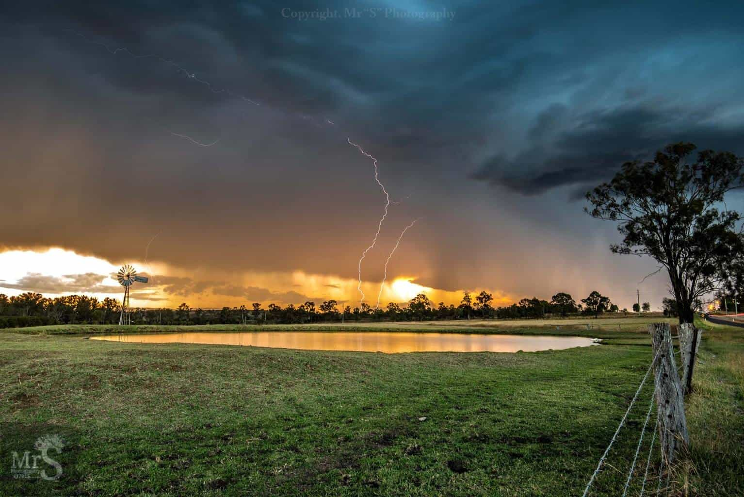 Another fav shot from 1st Oct 2015 at Willowbank Qld Australia. The clouds danced, the bolt's struck and I smiled