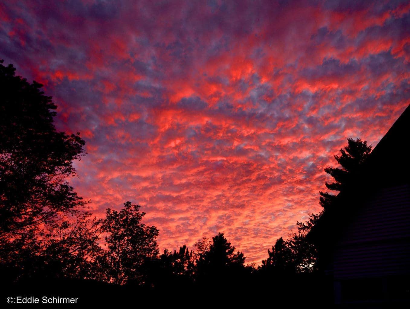 (10/1/2015) tonights Sunset in Waitsfield Vermont...
