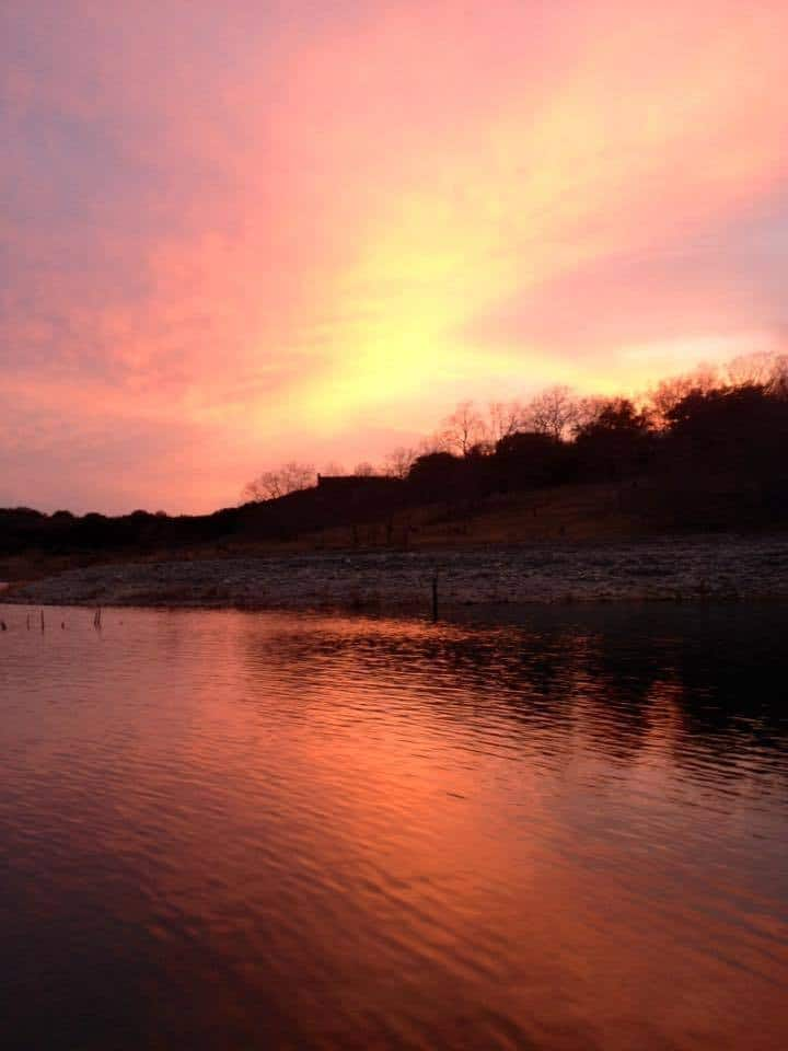 March 19, 2014 Canyon Lake, Tx sunset