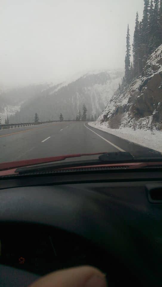 It's already winter here in grand county Colorado.