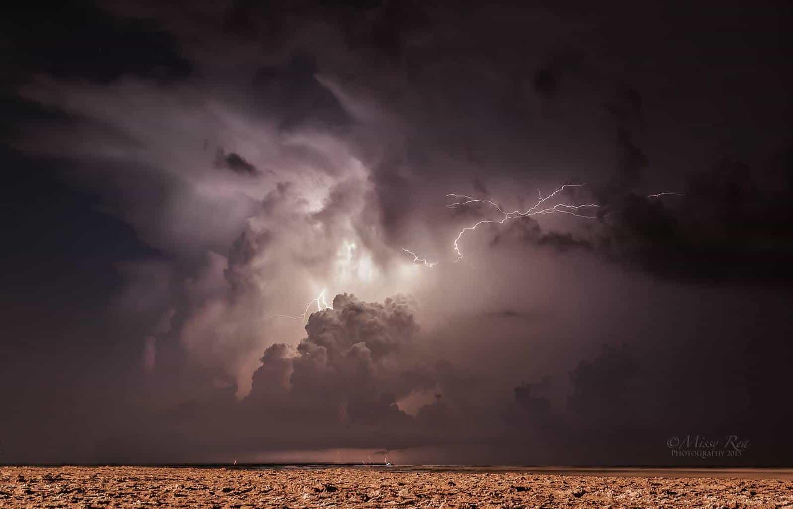 Lightning show off the Texas gulf coast! 23mm 30sec f/4 ISO200