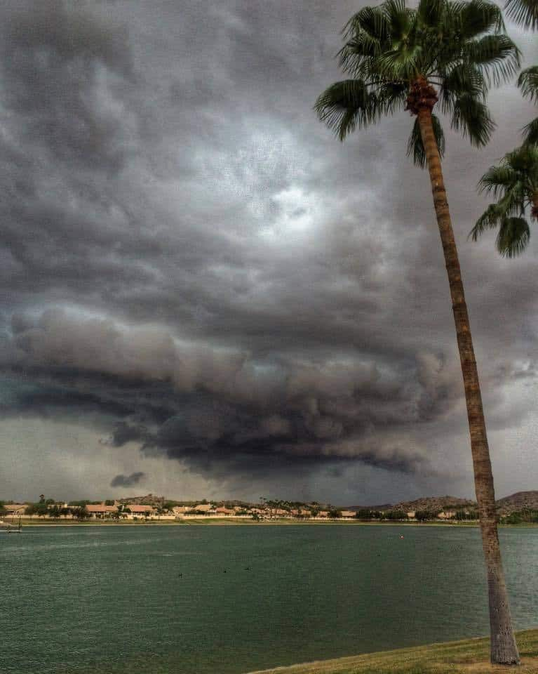 I took this photo this past Tuesday 10-06-15 in Goodyear Arizona. I saw some dramatic clouds, so I decided to go for a walk...