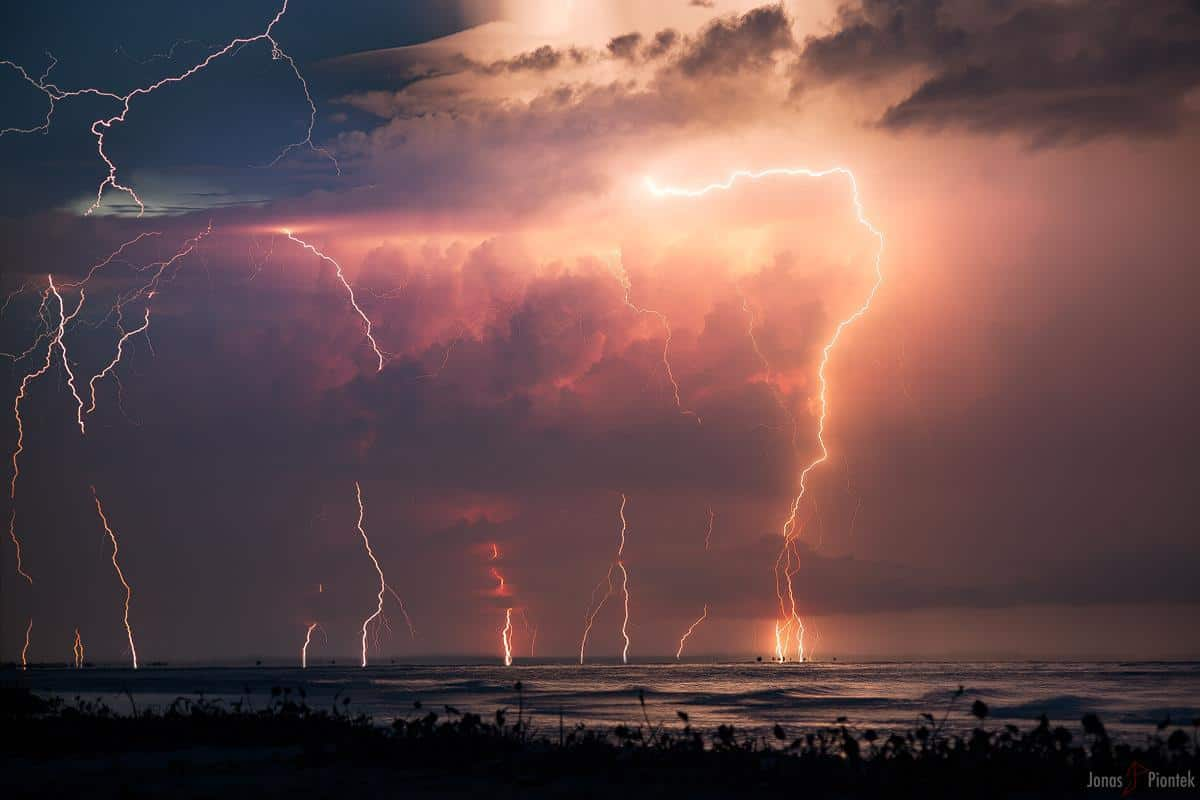 "Absolutely EPIC Lightning Barriage at the famous Maracaibo Lake where the Catatumbo Lightning occurrs. What an experience, please take me back right now... Note the big close ""Bolt out of the Blue"" on the left side, that one had heck of a shockwave..."