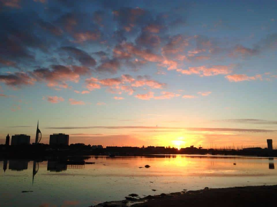 Good morning from Portsmouth uk