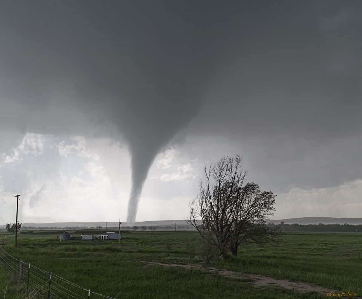 Simla Tornado June 4th.
