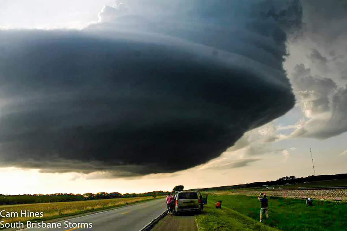 """It's been a while since anything's been uploaded on here from what seemed to be the most posted storm """"before Simla, Colorado"""" this year..  May 26, 2013 in Arcadia, Nebraska... I can only dream of being lucky enough to witness a storm like this again anytime soon!"""