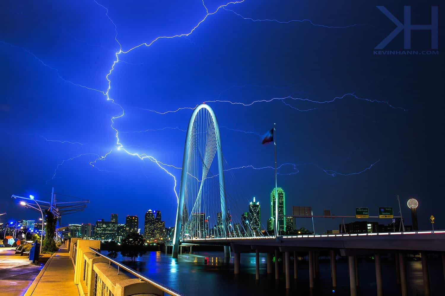 So I started shooting about 4 months when I purchased my very first camera. I got lucky my first month and was able to capture this lightning strike over the bridge. Camera in one hand and umbrella in the other. Figured I'd share this incase I hadn't already done so...
