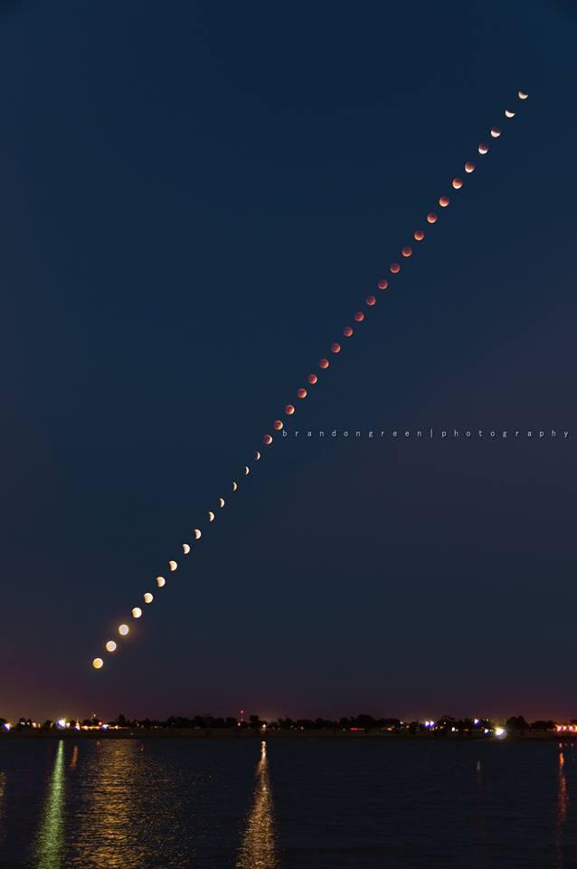 Super Blood Lunar Eclipse Amarillo, Tx.