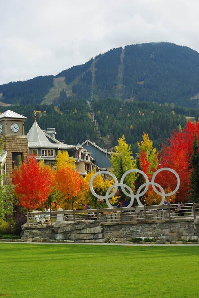 Whistler BC changing season