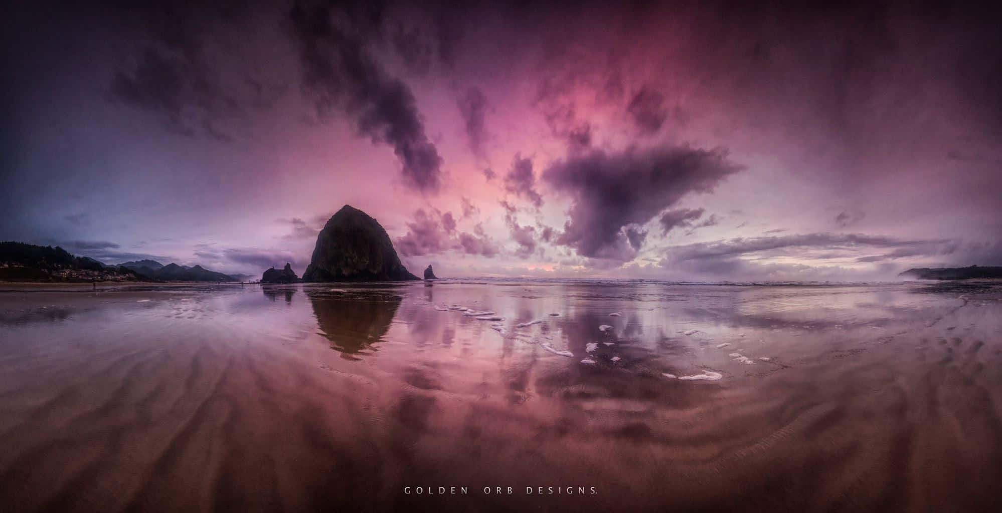 Tonight's sunset from Cannon Beach OR