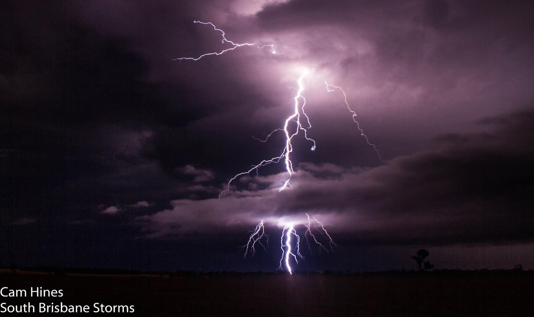 """From just under 2 weeks ago on the 28th of October near Talwood in western QLD. This storm was a late """"cap breaker"""" and developed in an area ripe for supercell development. This one exploded just on dusk and produced one of the most incredible lightning displays I've ever seen."""