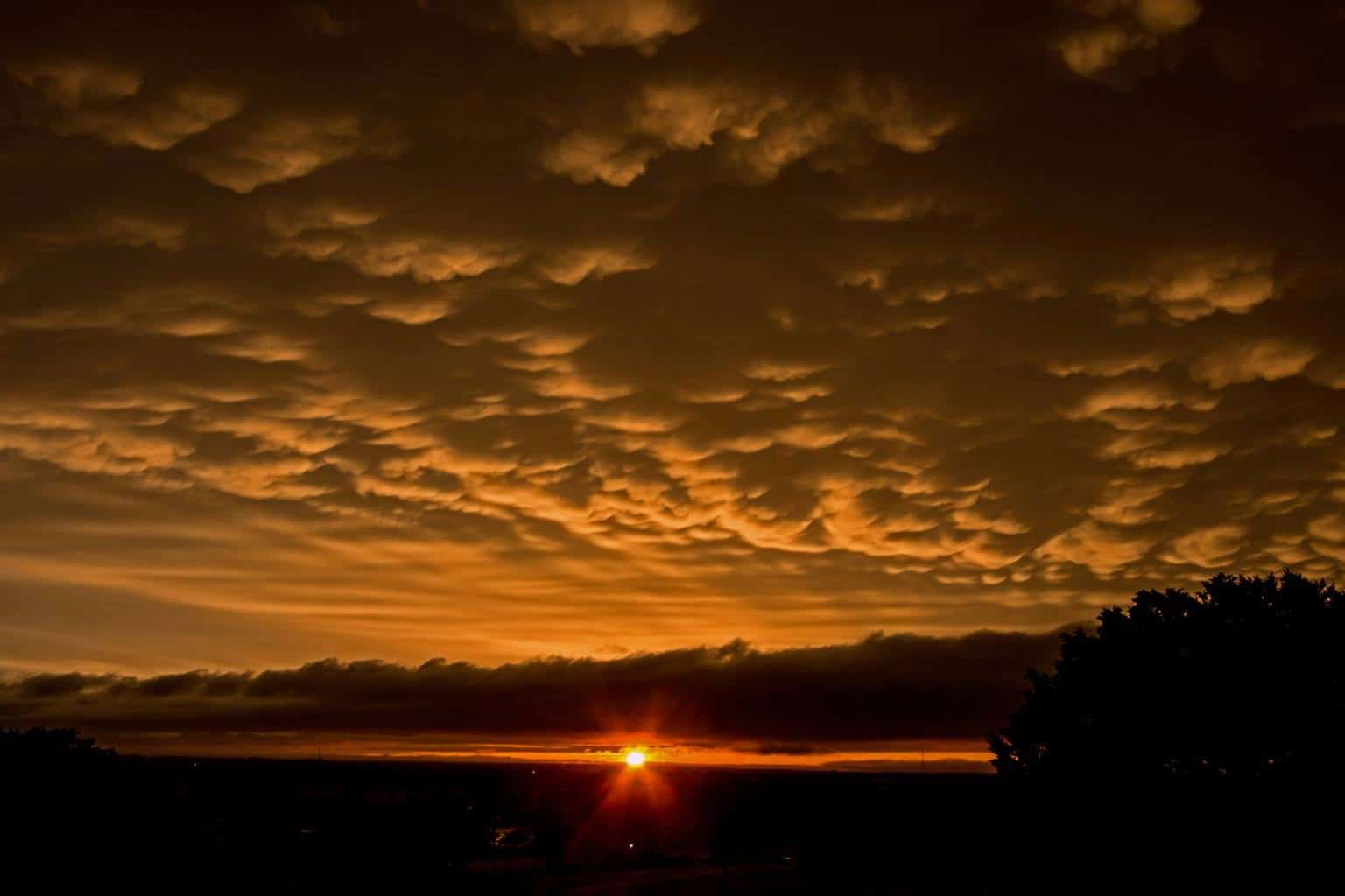 This is the sunset following the May 25, 2015 storm that I have been posting photos of the last couple of days. Taken in Temple, Texas.