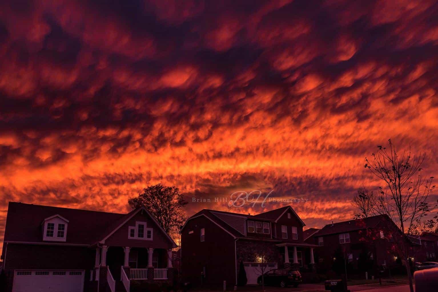 Nolensville TN (Just outside Nashville) 11-18-2015 we don't get many like this. It was something else.