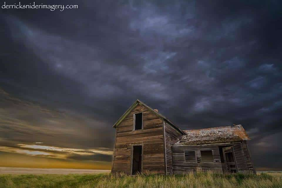 Brooding Skies  Williston North Dakota