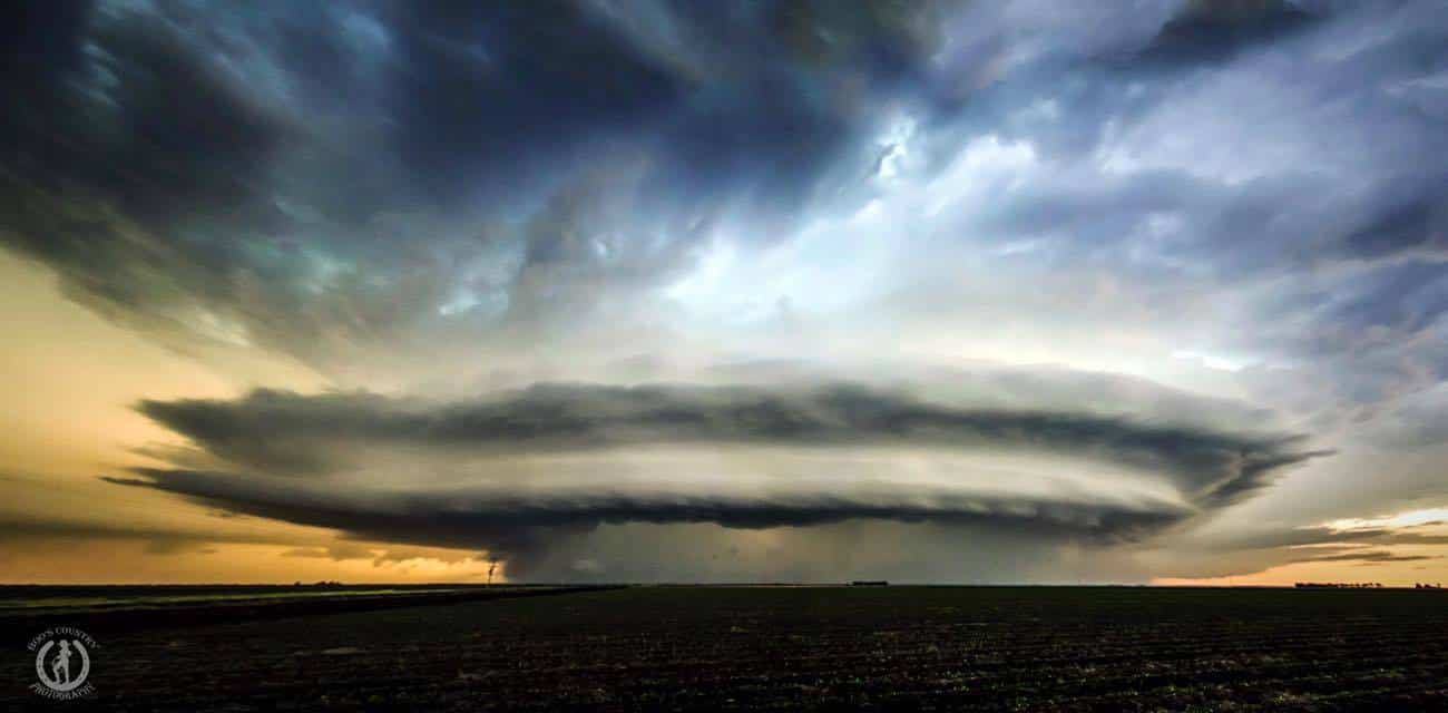 HP Supercell - somewhere between Inglewood and Milmerran Qld Australia 22/11/15