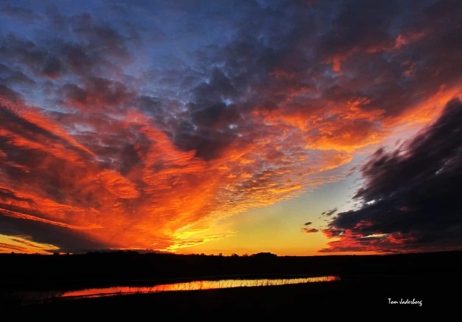 Kansas sunset. 11-6-15