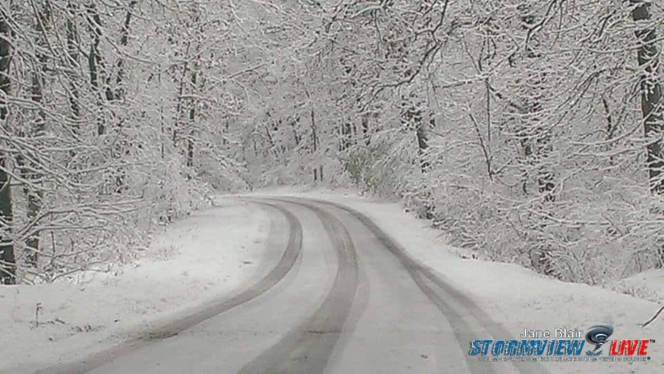 Happy Thanksgiving to you all This was taken 11-11-14  My snowy drive!