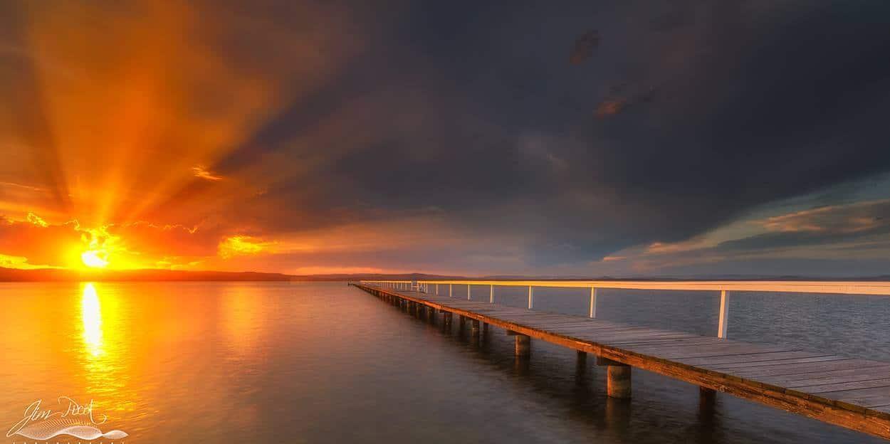 A little ray of sunshine,... Long Jetty, NSW, Australia