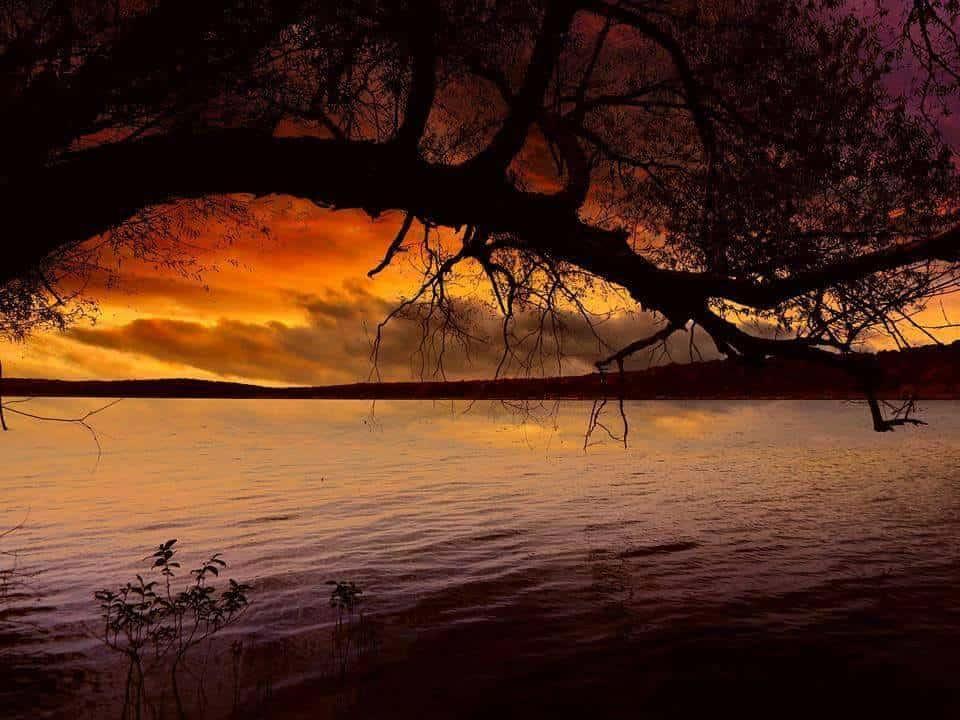 Lake Tenkiller in NE Oklahoma.