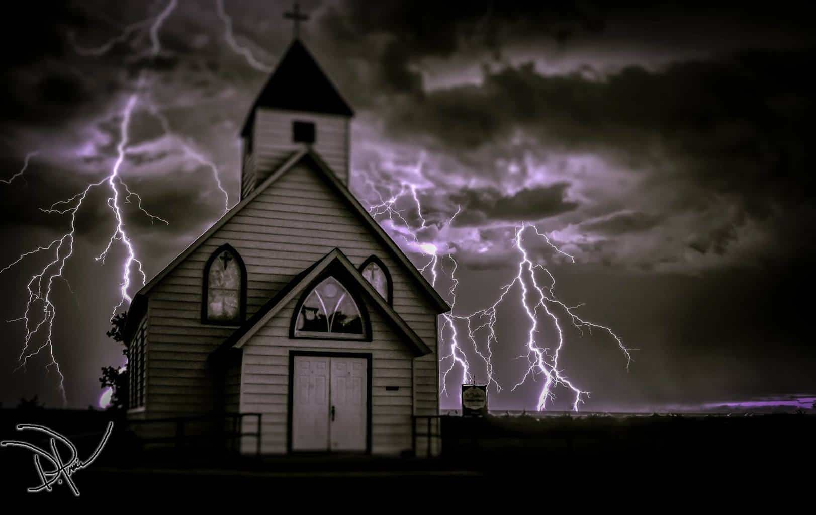 WoW its been awhile since I have shared anything on this page.. Hope everyone is having a safe and fun holiday ... Here is a small church in NECO with a lightning barge behind it .. Enjoy and have a good Thanksgiving