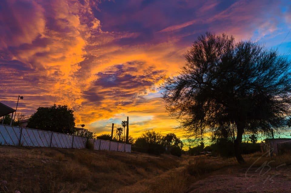 Amazing sunset from Phoenix, last night!