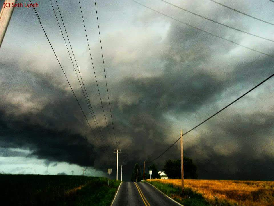 Saw an amazing pic a couple minutes ago someone posted it had some nice blue in it so i figured id post 1 back from July 2012. This severe storm in Mount Holly Springs, Pa produced 70mph and half dollar sized hail. For my area its rare but it happened ill never forget this scene heart emoticonthis is my favorite photo to date. Also ive been thinking about printing my photos and putting them in a photo album. Does anyone else do that?
