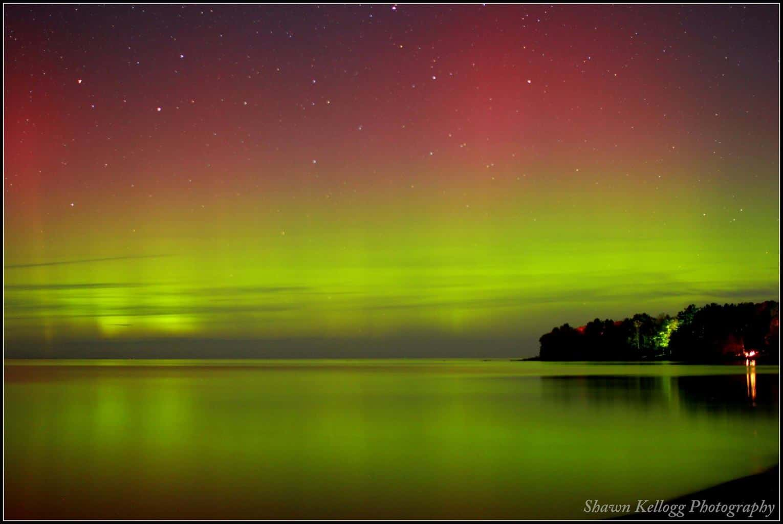 Persistence paid off last night. Aurora in Northern Michigan!